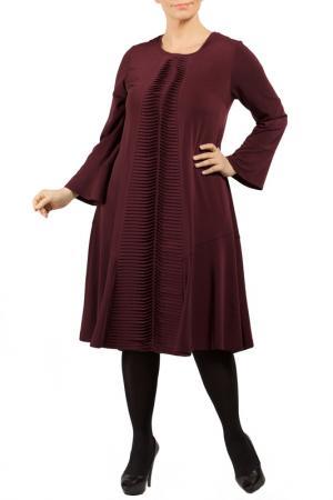 DRESS Zedd Plus. Цвет: dark red