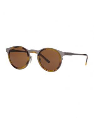 Солнечные очки KYME. Цвет: охра