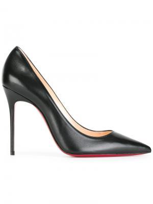 Классические туфли-лодочки Christian Louboutin. Цвет: чёрный