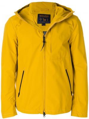 Куртка Pacific Woolrich. Цвет: жёлтый и оранжевый