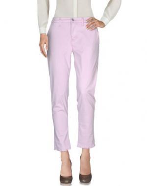 Повседневные брюки HUDSON. Цвет: сиреневый