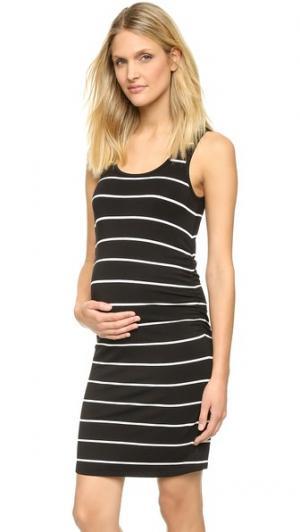 Платье для беременных Kimberly с вытачками Rosie Pope. Цвет: белый
