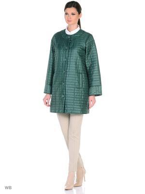 Куртки Tirella city. Цвет: зеленый