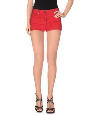 Повседневные шорты ELISABETTA FRANCHI JEANS. Цвет: красный