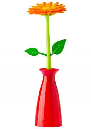 Шариковая ручка FLOWER SHOP VIGAR. Цвет: красный (красный, оранжевый, зеленый), красный (красный, розовый, зеленый), красный (красный, фиолетовый, зеленый)