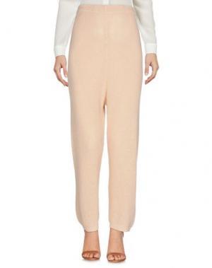 Повседневные брюки MES DEMOISELLES. Цвет: бежевый