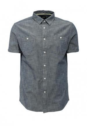Рубашка джинсовая Burton Menswear London. Цвет: синий