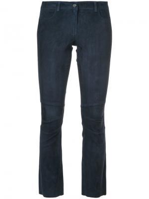 Укороченные брюки Sylvie Schimmel. Цвет: синий