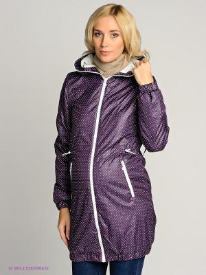 Куртка I love mum. Цвет: фиолетовый
