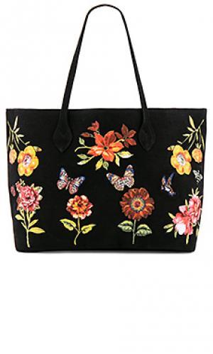 Роскошная сумка-тоут jackie Lauren Moshi. Цвет: черный