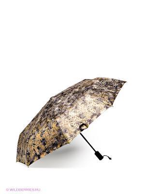 Зонт Flioraj. Цвет: золотистый, бежевый