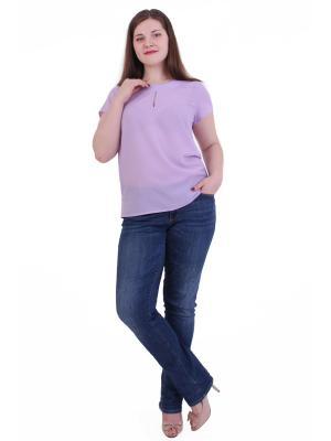 Блузка Regina Style. Цвет: сиреневый
