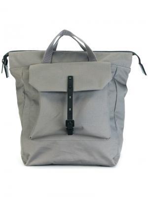 Рюкзак Frances Ally Capellino. Цвет: серый