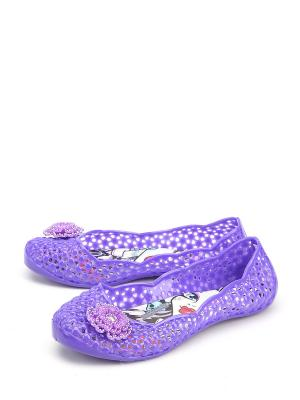 Балетки Disney. Цвет: фиолетовый