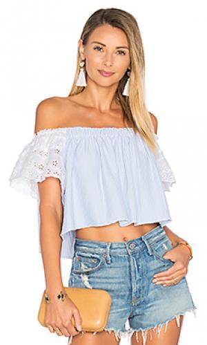 Рубашка bendito holanda Agua Bendita. Цвет: синий