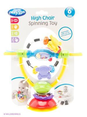 Playgro Игрушка развивающая на присоске. Цвет: красный, оранжевый, белый, черный, синий, зеленый, фиолетовый