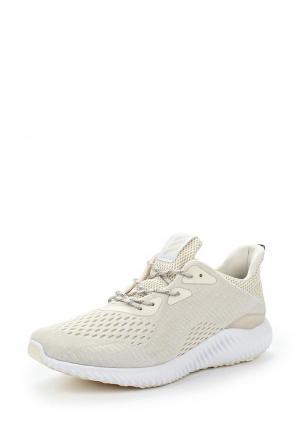 Кроссовки adidas Performance. Цвет: бежевый