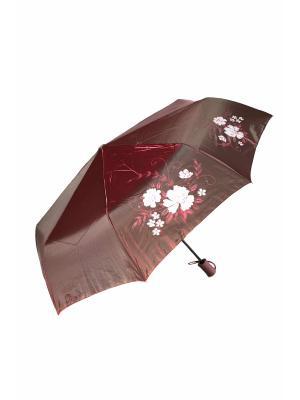 Зонт Mitya Veselkov. Цвет: бордовый