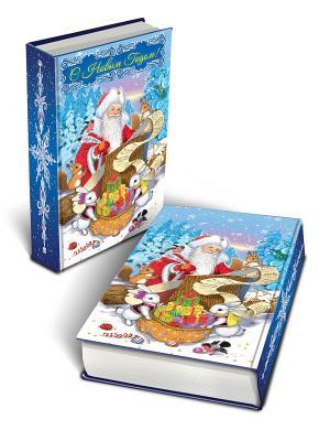 Декоративная шкатулка Список подарков(17*11*5см, из МДФ) Magic Time. Цвет: синий