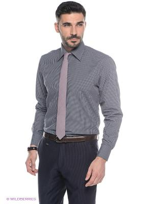 Рубашка Conti Uomo. Цвет: черный, серый