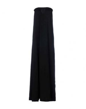 Длинное платье F**K PROJECT. Цвет: черный
