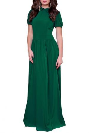 Платье Olivegrey. Цвет: насыщенно-зеленый