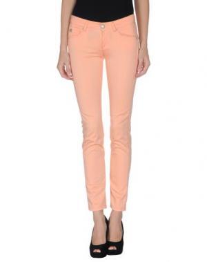 Повседневные брюки TAKE-TWO. Цвет: абрикосовый