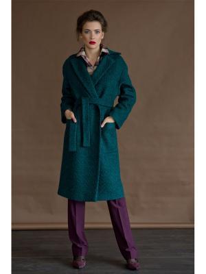 Пальто Levall. Цвет: зеленый