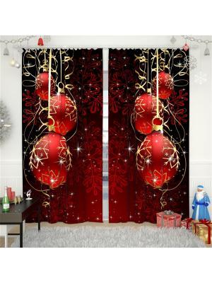 Фотошторы Олимп Текстиль. Цвет: бордовый, малиновый, красный