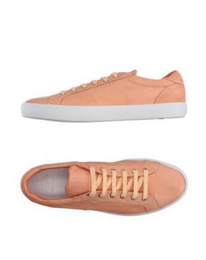 Низкие кеды и кроссовки PANTOFOLA D'ORO. Цвет: лососево-розовый