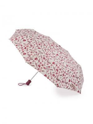 Зонт Автомат Fulton. Цвет: красный
