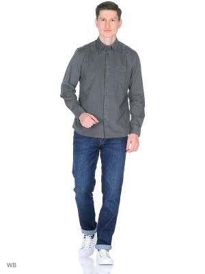 Рубашка BUTTON-DOWN Wrangler. Цвет: темно-серый