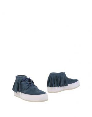 Полусапоги и высокие ботинки BARLEYCORN. Цвет: грифельно-синий