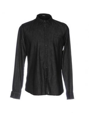 Джинсовая рубашка OFFICINA 36. Цвет: черный