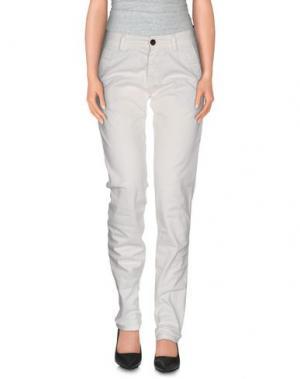 Повседневные брюки REFRIGUE. Цвет: белый