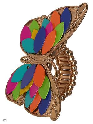 Кольцо AVGAD. Цвет: синий