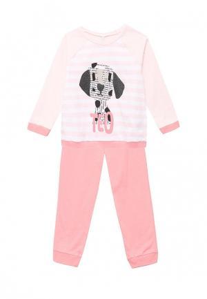 Пижама United Colors of Benetton. Цвет: розовый