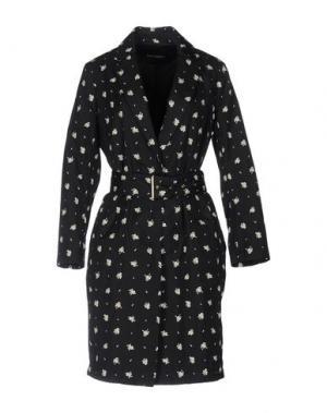Легкое пальто TARA JARMON. Цвет: черный