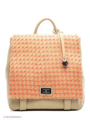 Сумка-рюкзак Pola. Цвет: светло-коралловый