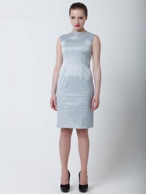 Платье Quattro. Цвет: серо-голубой