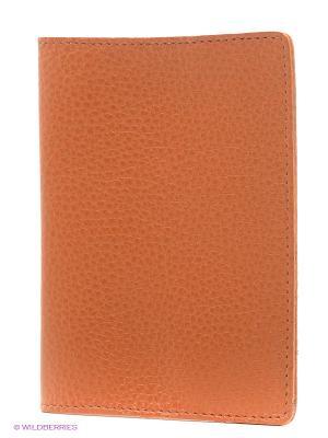 Обложка для паспорта A.Valentino. Цвет: рыжий
