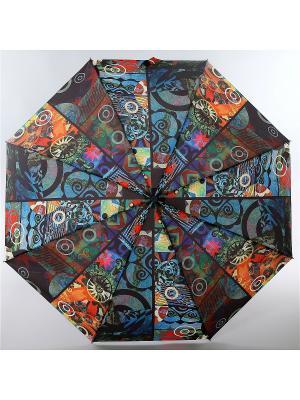 Зонт Airton. Цвет: коричневый, голубой, светло-оранжевый