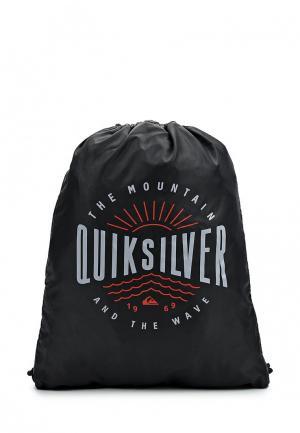 Мешок Quiksilver. Цвет: черный