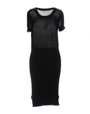 Платье до колена KOOKAI. Цвет: черный
