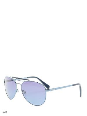 Солнцезащитные очки JC 574S 90W Just Cavalli. Цвет: синий