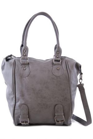 Сумка Vera bags. Цвет: dark gray
