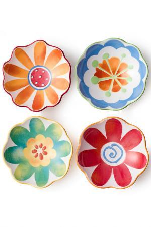 Набор суповых тарелок Brandani. Цвет: мультицвет