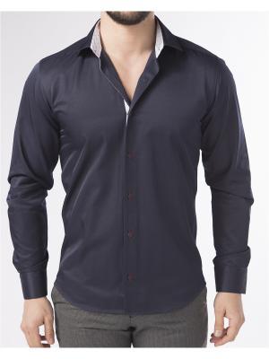 Рубашка BIRIZ. Цвет: темно-синий