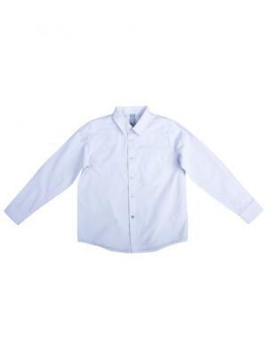 Рубашка текстильная S`Cool. Цвет: голубой