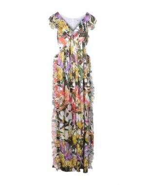 Длинное платье LEITMOTIV. Цвет: зеленый
